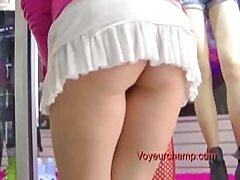 Rubia en nylon en tacones se videos xxx maduras caseros desnuda