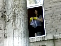 Asiático adolescente salta sobre un gran marrón como un videos pornos caseros de señoras jefe